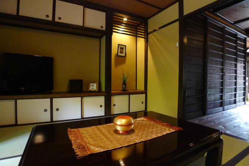 Living Room - Beautifully Restored Machiya-Gion/Kiyomizu, Kyoto! - Kyoto - rentals