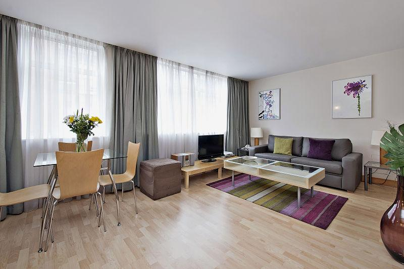 One bedroom Premium reception area - Globe Apartments - St Christopher's Place - 1 Bed - London - rentals