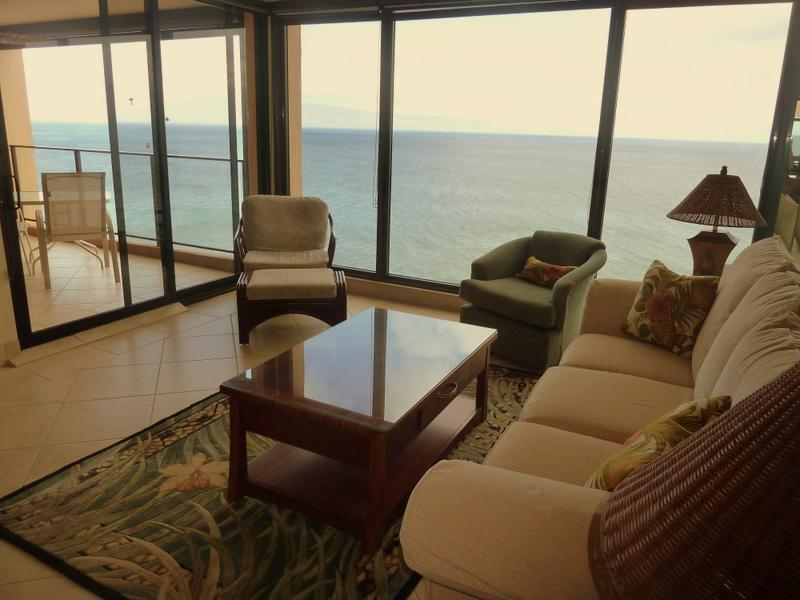 Penthouse Views - Breathtaking Oceanfront Penthouse- Privacy & Views - Lahaina - rentals