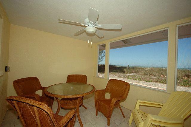 Back Porch with Gulf View - Playa Casanas North-3222 Gulf - Holmes Beach - rentals