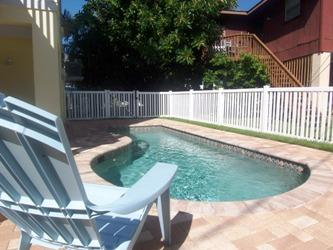 pool side - Southern Comfort on HolmesBlvd - Holmes Beach - rentals