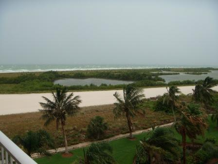View from the balcony - South Florida Marco Island 2 bdr Beachfront Condo - Marco Island - rentals