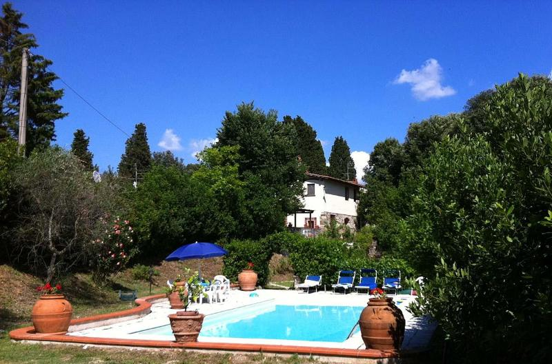 Beautiful and Quiet Vacation Rental on the Florence Hills at La Merlaia - Image 1 - Bagno a Ripoli - rentals