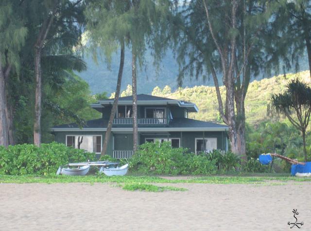Ka Nani as seen from the beach. - Ka Nani O Wai'oli - Hanalei - rentals