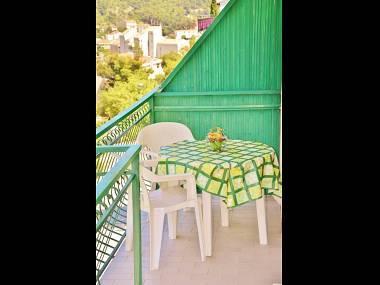 A2(2+2): terrace - 5512  A2(2+2) - Drvenik - Drvenik - rentals