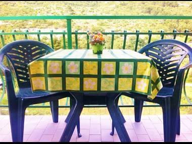 A5(4+1): terrace - 5512  A5(4+1) - Drvenik - Drvenik - rentals