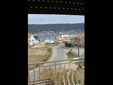 A1(6): terrace view - 5543 A1(6) - Supetarska Draga - Supetarska Draga - rentals