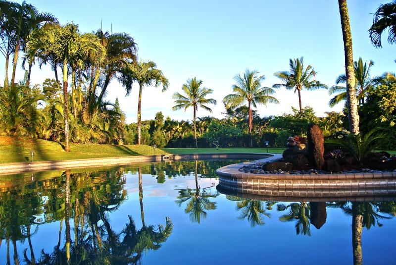 A Tropical Paradise By The Pool - Ke Aloha Estate - Pool, Gym, Hot Tub, Yoga Studio - Princeville - rentals