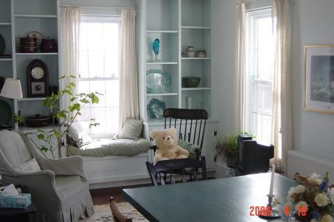 Living Room with direct Ocean view - Ocean Front Home Biddeford (Granite Point) Maine - Biddeford - rentals