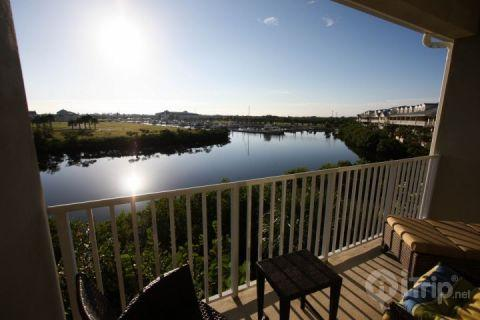 Master bed balcony view - 515 Little Harbor - Ruskin - rentals
