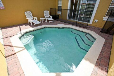 Private splash pool - 3033 Encantada - Kissimmee - rentals