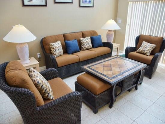 Family Room - W4P460MA 4BR Holiday Villa w/ Overlooking Lake - Orlando - rentals