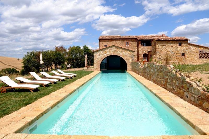 Villa Chiara holiday vacation villa rental italy, tuscany, pienza, holiday - Image 1 - Pienza - rentals
