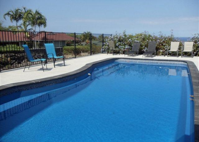 Pool - Maluna Palm is surrounded by lush tropical plants and flowers - Kailua-Kona - rentals