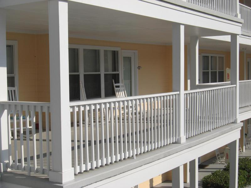 View of Condo from Cat Walk - Elegant Beachside Condo with Pool in Panama City - Panama City Beach - rentals
