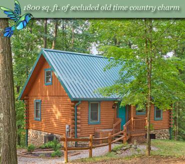 Hummingbird Hill Cabin 1 - Image 1 - Logan - rentals