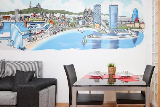 Montjuic Style *** Cocoon Modern Comfort (BARCELONA) - Image 1 - Barcelona - rentals