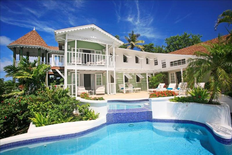 Saline Reef at 19 Saline Point, Cap Estate, Saint Lucia - Ocean View, 2 Pools Linked By Waterfall - Image 1 - Cap Estate - rentals