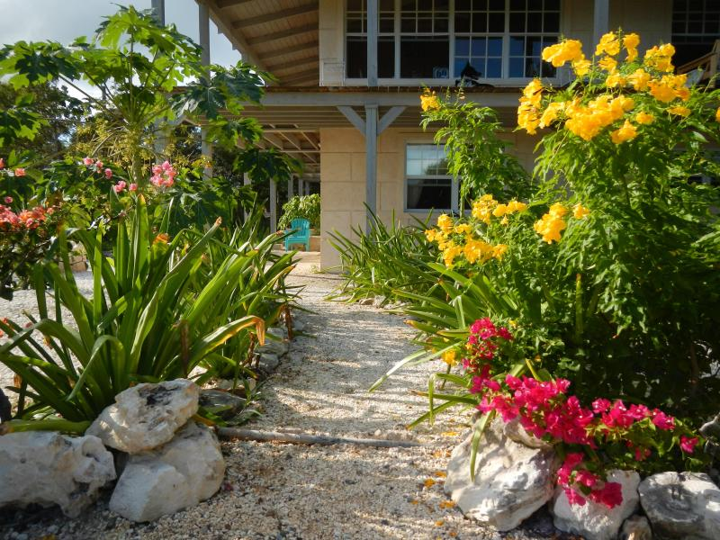 Approaching the  1 bedroom apartment - The Olde Beach House, 1 Bed Apartment - Providenciales - rentals