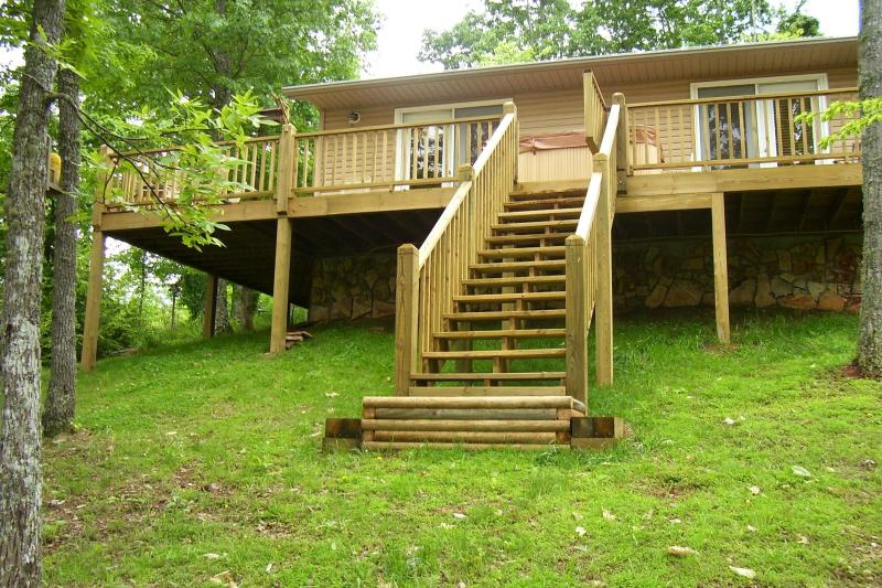 Front of cabin - TIME TO HAVE FUN AND RELAX IN THE NC MOUNTAINS - Murphy - rentals
