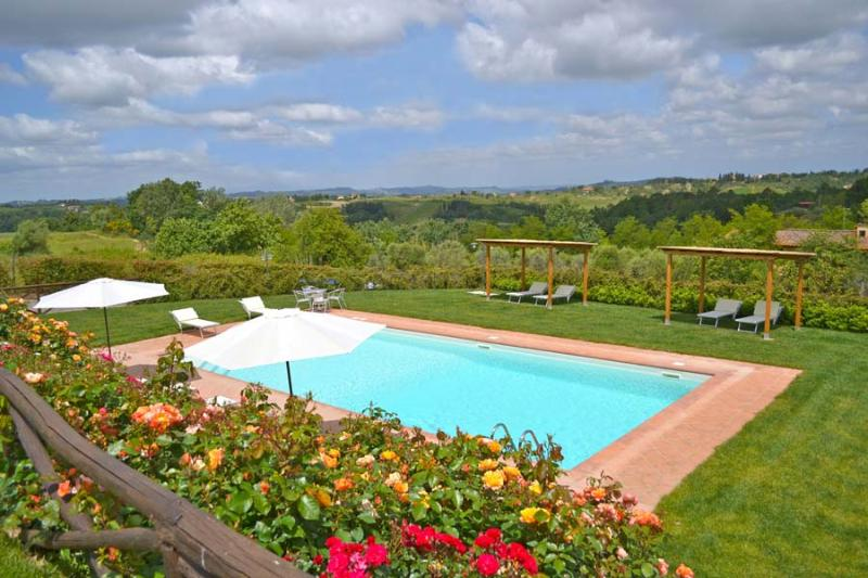 Pool - 2 bedroom with pool and amazing view - Castelfiorentino - rentals