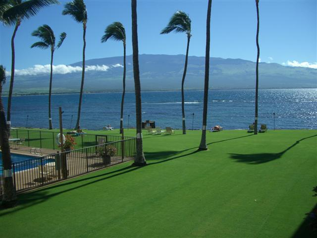 View from Balcony - Beautiful Luxury Oceanfront 2 BD Condo Maalaea - Wailuku - rentals