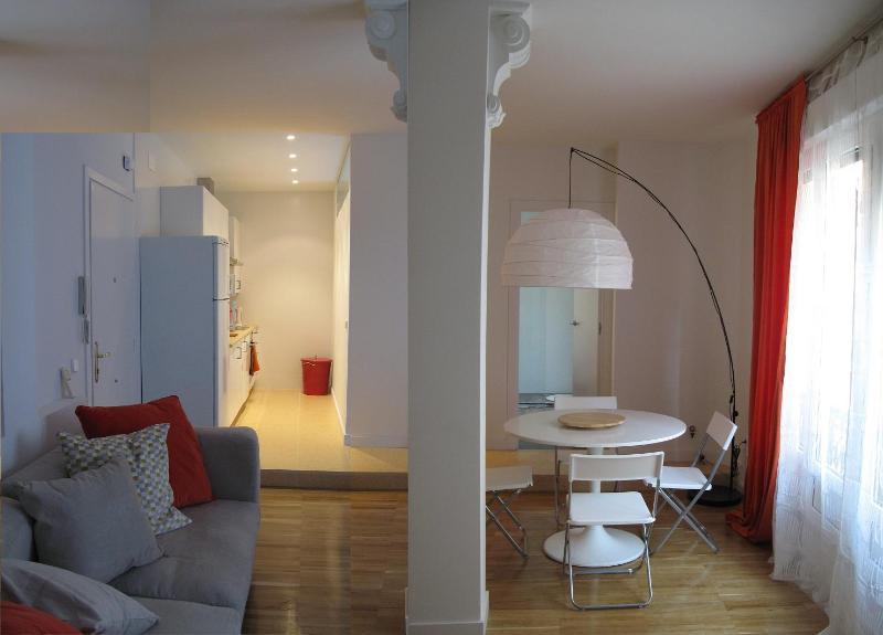Living room - Apartment in Gran Vía Madrid city center - Madrid - rentals
