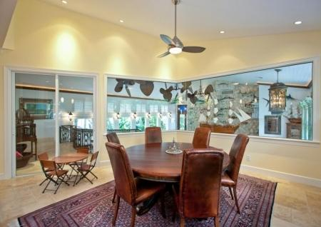 Dining Room - Sur La Mer Private Beach Retreat - Vero Beach - rentals