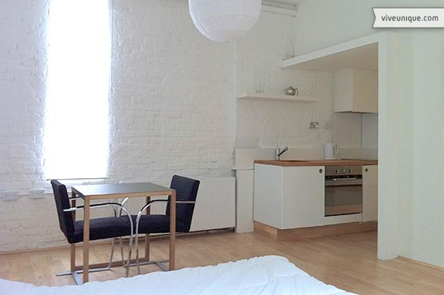 Contemporary Studio in Gated Mews, Dalston - Image 1 - London - rentals