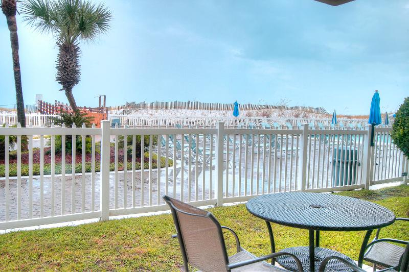 Sea Oats 106 - Book Online!  3 BR/2BA Ground Floor BeachFront on Okaloosa Island! - Image 1 - Fort Walton Beach - rentals