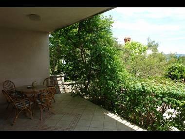 H(6): terrace - 5607  H(6) - Murter - Murter - rentals