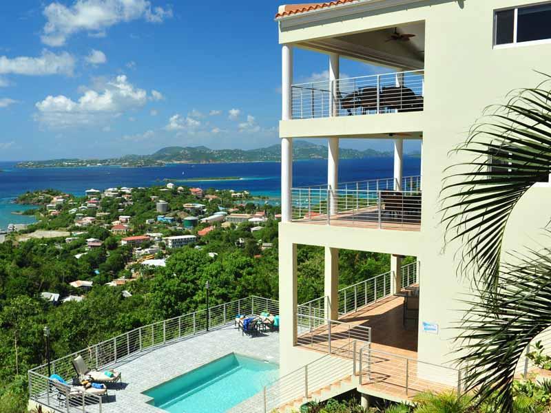 Christmas availability*contact manager*Luxury Villa* overlooking Cruz Bay - Image 1 - Cruz Bay - rentals