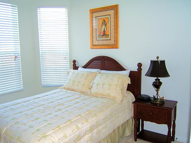 Second bedroom with full bed - 3 bedroom condo near Orlando Disney - Kissimmee - rentals