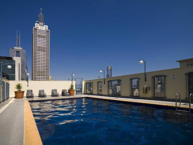 Melbourne CBD Serviced apartment rooftop pool - StayCentral Nest Chinatown theatres market shops - Melbourne - rentals
