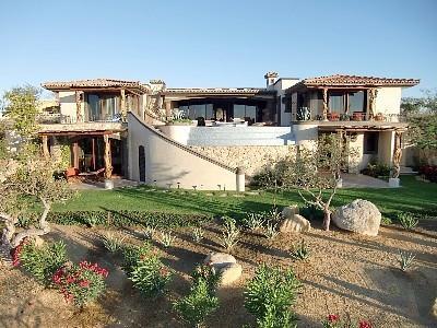 Casa Mar y Estrella front yard - 4 Bedroom Luxury Ocean View Villa - San Jose Del Cabo - rentals