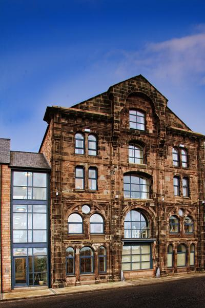 The historic facade of Mill Wharf, Berwick-upon-Tweed - Mill Wharf. - Berwick upon Tweed - rentals
