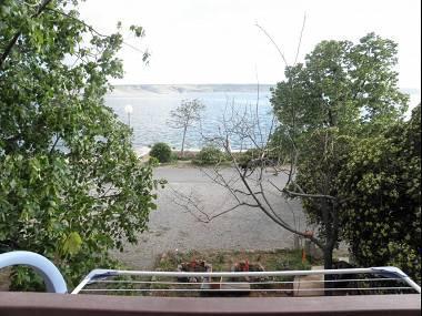 A3(5): terrace view - 5565  A3(5) - Starigrad-Paklenica - Starigrad-Paklenica - rentals