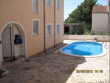 swimming pool (house and surroundings) - 5616 A2(2+2) - Milna (Brac) - Milna (Brac) - rentals