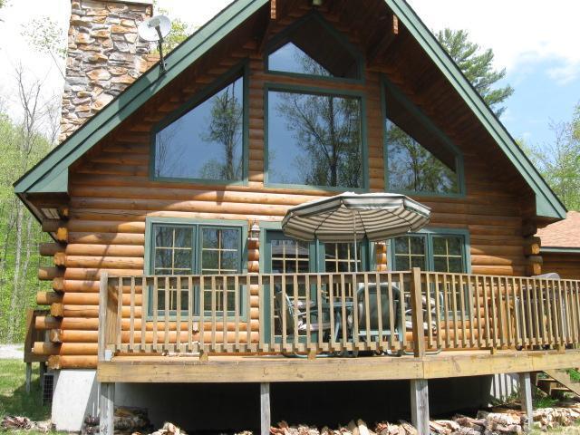 Lincoln Log Home - Modern Log Home on Private Lake ATV/Hiking Trails - Adirondack - rentals