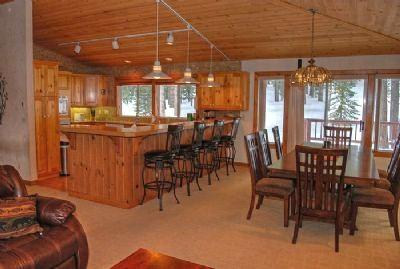 Dining area with seating for 12 - Tahoe Donner Vacation Luxury - Truckee - rentals