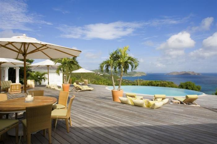 Luxury 4 bedroom St. Barts villa. Incredible views! Secluded, yet close to Lorient and Saline beach! - Image 1 - Saint Barthelemy - rentals