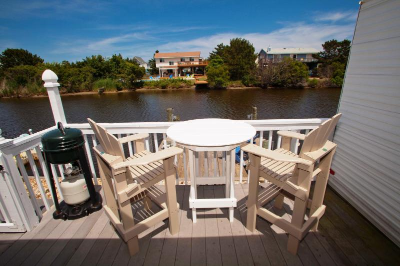 Deck with Gas Grill - Ocean & Bay...Best of Both Worlds! AFFORDABLE! - Virginia Beach - rentals