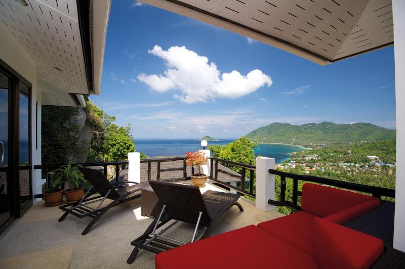 Frangipani Villa's stunning seaview - Stunning Frangipani Villa on the island Koh Tao - Koh Tao - rentals