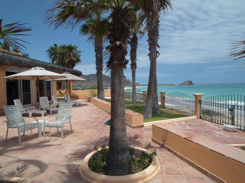 VILLA DEL MAR's ocean-beach views to north - VILLA DEL MAR @ Baja Paradise - Cabo Pulmo - rentals