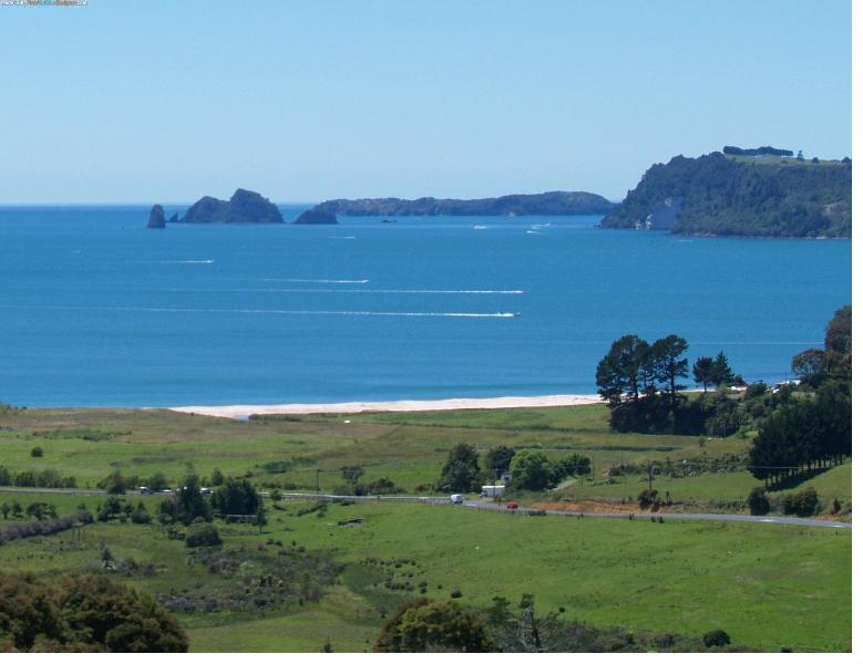 Spectacular views from the apartment - Two bedroom hilltop apartment in Whitianga, NZ - Whitianga - rentals