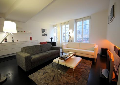 Living room - Marais St Martin - Paris - rentals