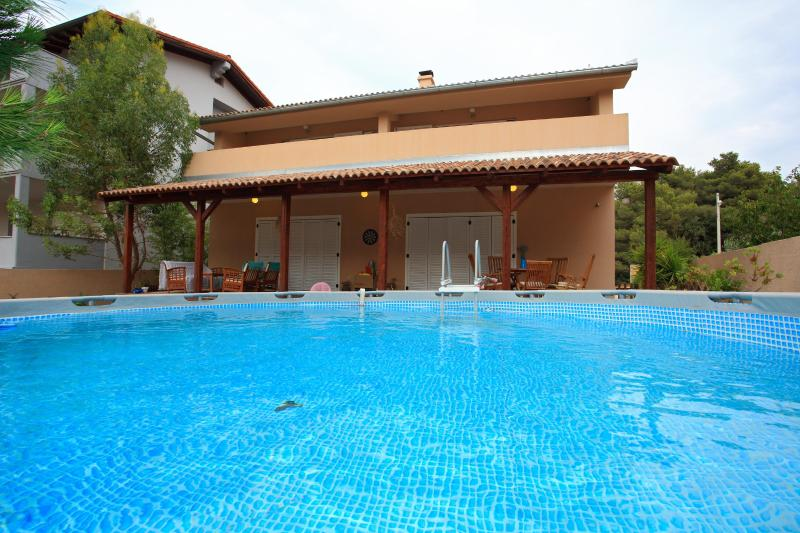 Outside view from the pool - Vila Moli - Luxury vila in Bibinje,Zadar,Croatia - Zadar - rentals