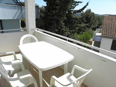 A6(4+2): terrace - 5584 A6(4+2) - Pirovac - Pirovac - rentals