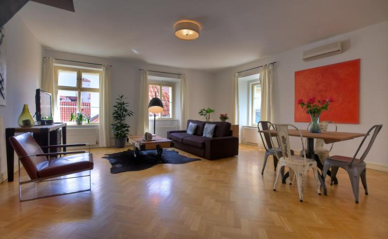 Sunlit Apartment - View - One-Bedroom Sunlit Apartment - Prague - rentals