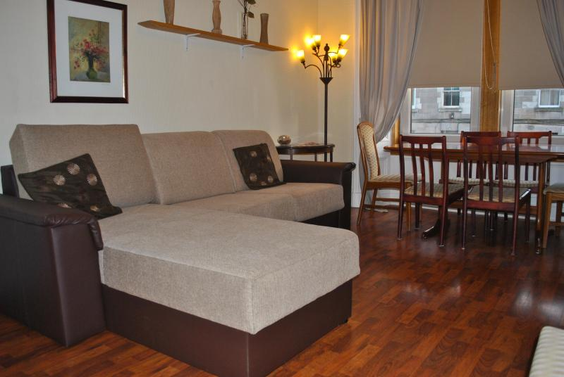 LIVING ROOM WHIT DOUBLE SOFA BED - 3 BEDROOM APARTMENT 1ST FLOOR - Edinburgh - rentals